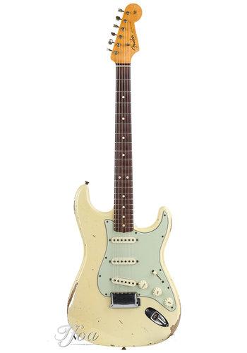 Fender Custom Fender Masterbuilt Todd Krause 1963 Relic Olympic White 2014