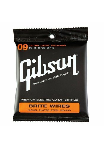 Gibson Gibson Ultra Light Mediums Brite Wires 9-46
