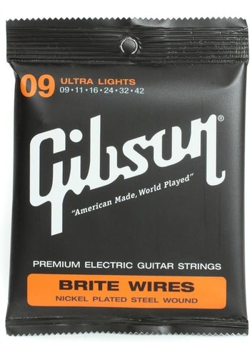 Gibson Gibson Ultra Light Brite Wires 9-42