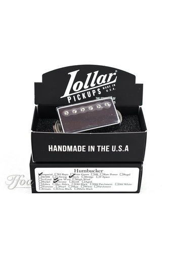 Lollar Lollar Imperial Humbucker Low Wind Chrome Neck