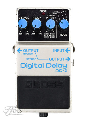 Boss Boss DD2 Digital Delay Blue Label 1984