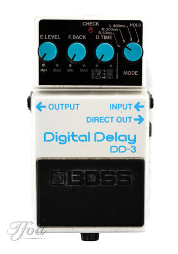 Boss Boss DD3 Digital Delay Blue Label 1990