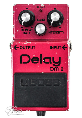 Boss Boss DM2 Delay 1982