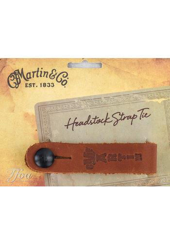 Martin Martin Headstock Strap Tie Brown