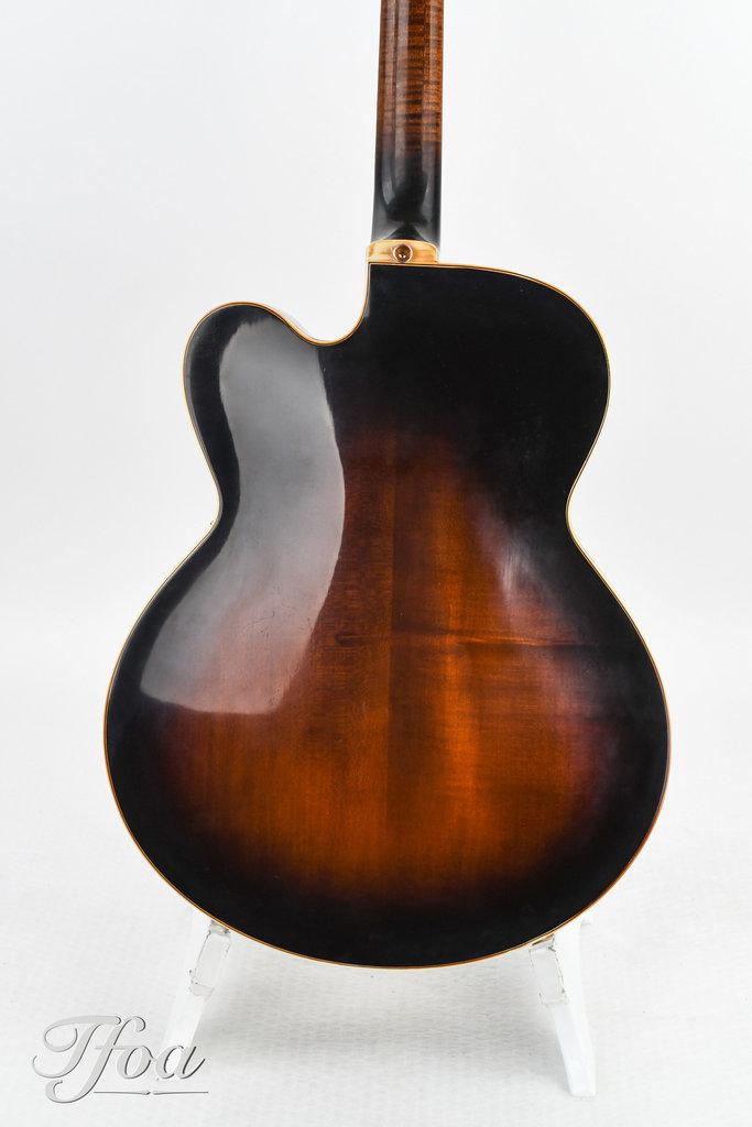 Gibson Super V Sunburst 1978