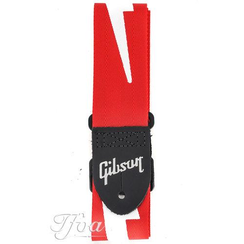 Gibson Gibson The Lightning Bolt Seatbelt Strap Red
