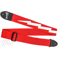 Gibson The Lightning Bolt Seatbelt Strap Red