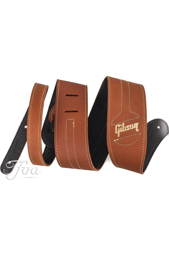 Gibson Premium Guitar Strap Classic Brown