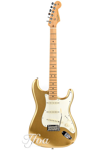 Fender Fender Stratocaster USA FSR limited 60th Aztec Gold 2014 Near Mint