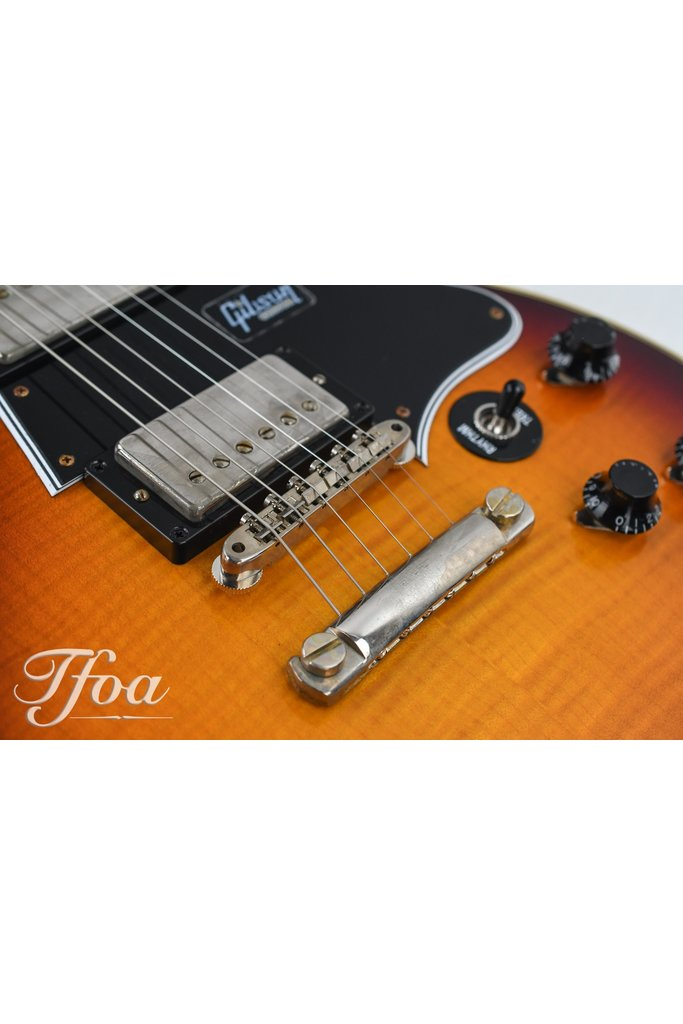 Gibson Custom Les Paul Special DC Figured Bourbon Burst VOS