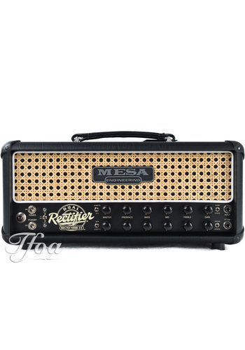 Mesa Boogie Mesa Boogie Dual Rectifier Rectoverb 25 Wicker Grill Head