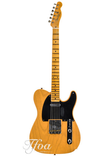 Fender Custom Fender 52 Telecaster Butterscotch Journeyman Relic