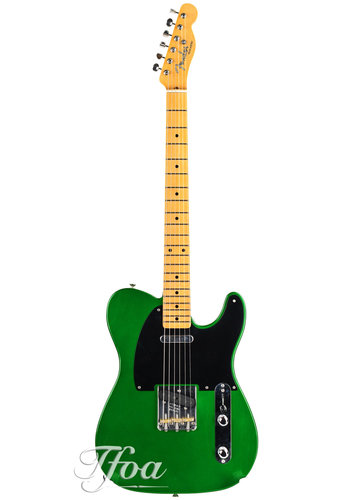 Fender Custom Fender 52 Tele LCC Candy Apple Green HW 52 PUS MN