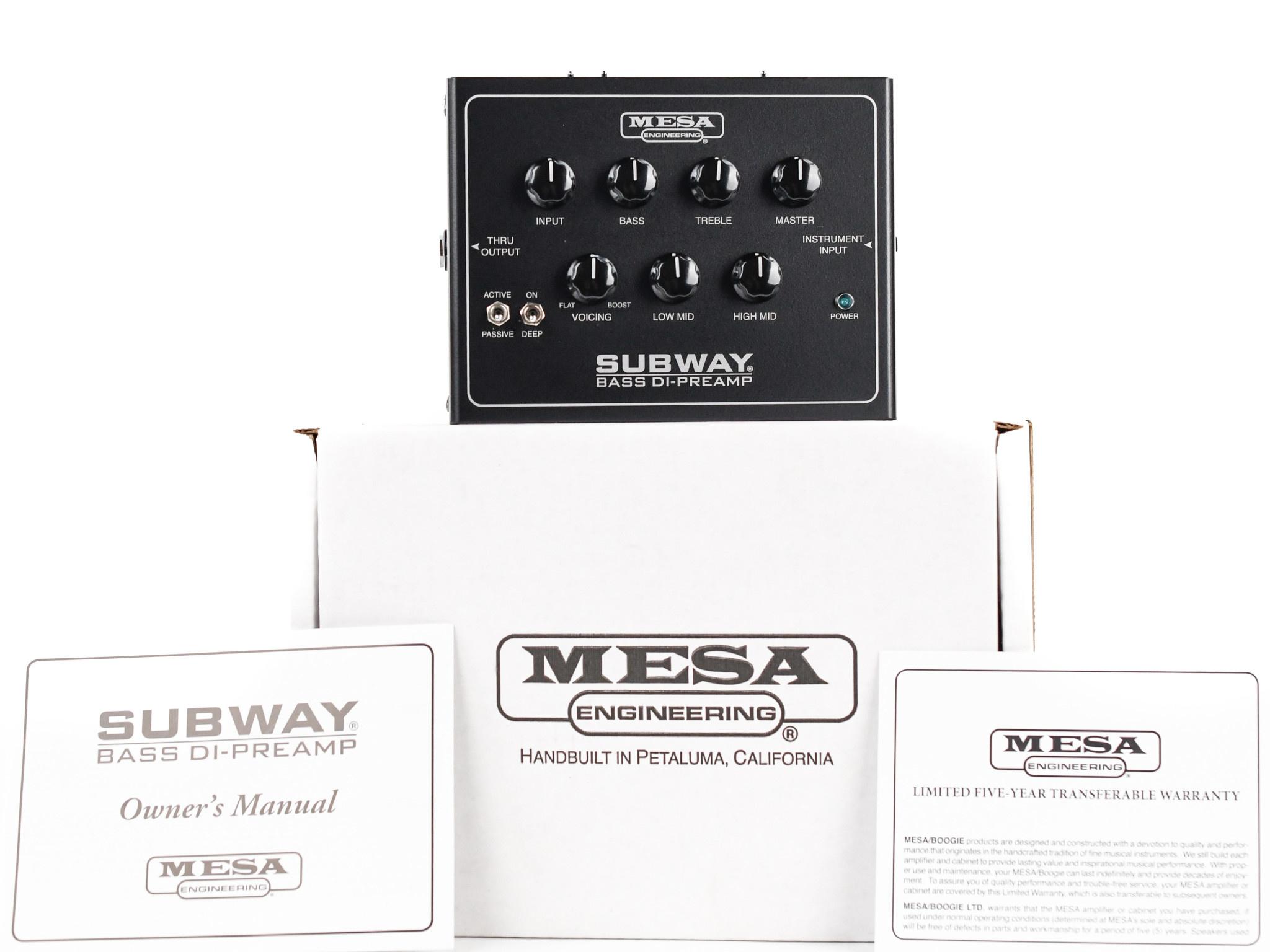 Mesa Boogie Bass DI D800 Pedal