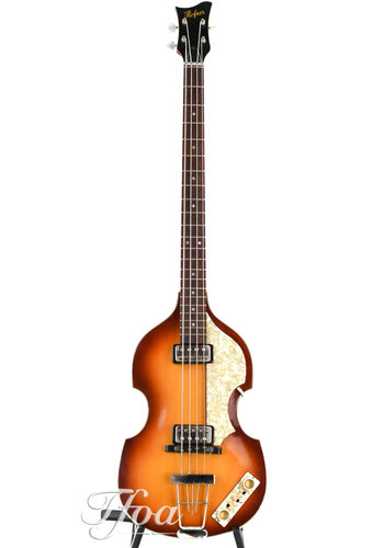 Höfner Hofner 61 500/1 Beatles Reissue bass ca 2012