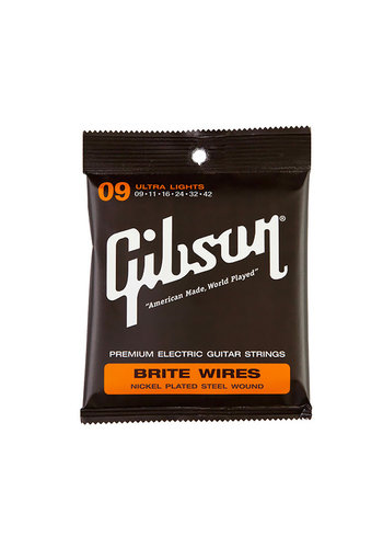 Gibson Gibson Brite Wire Super Ultra Lights 9-42