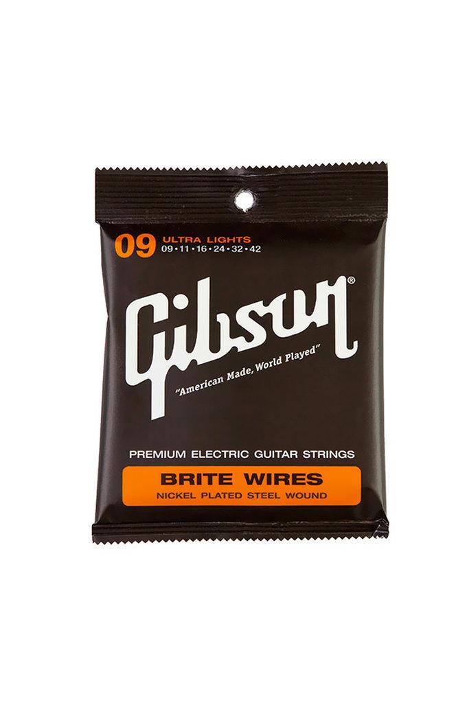 Gibson Brite Wire Super Ultra Lights 9-42
