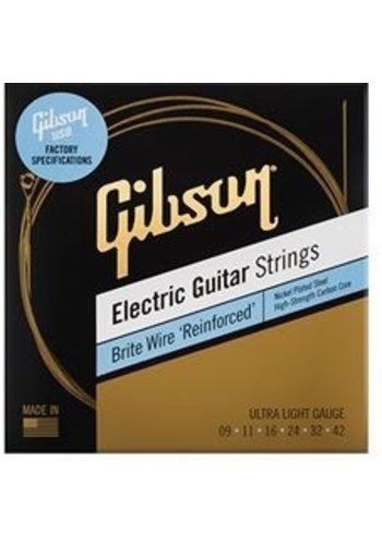 Gibson Gibson Brite Wire Reinforced Medium Ultra Light 9-42