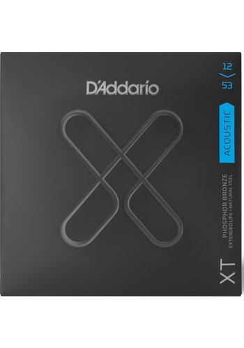 D'Addario D'addario XTAPB1253 XT Phosphor Bronze 12-53