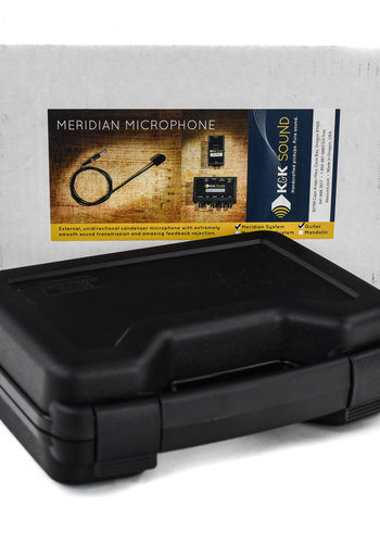 K&K Sound K&K Meridian Microphone System for Acoustic Guitar with Preamp