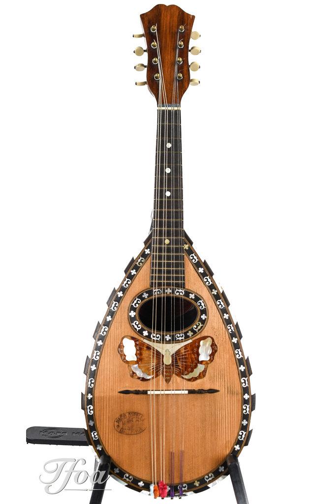 Mario Casella Bowlback Mandolin ca. 1910