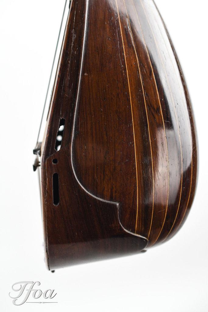 Fratelli Ferrari Napoli Meglio Model Bowlback Mandolin ca. 1900