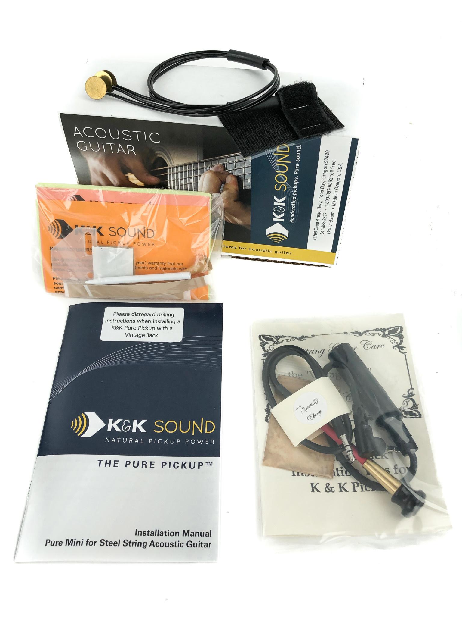 K&K Pure Mini Vintage Jack Brass