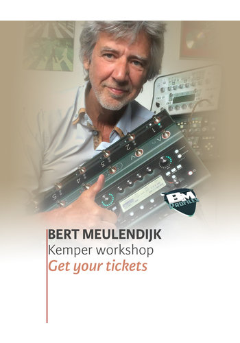 01-12-2019 | Bert Meulendijk Kemper Profiler Workshop!