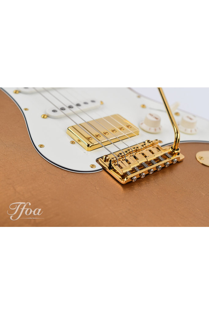 Suhr Custom Classic S Antique Firemist Gold