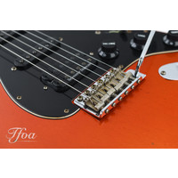 Fender Custom 60 Strat Heavy Relic Candy Tangerine over Black