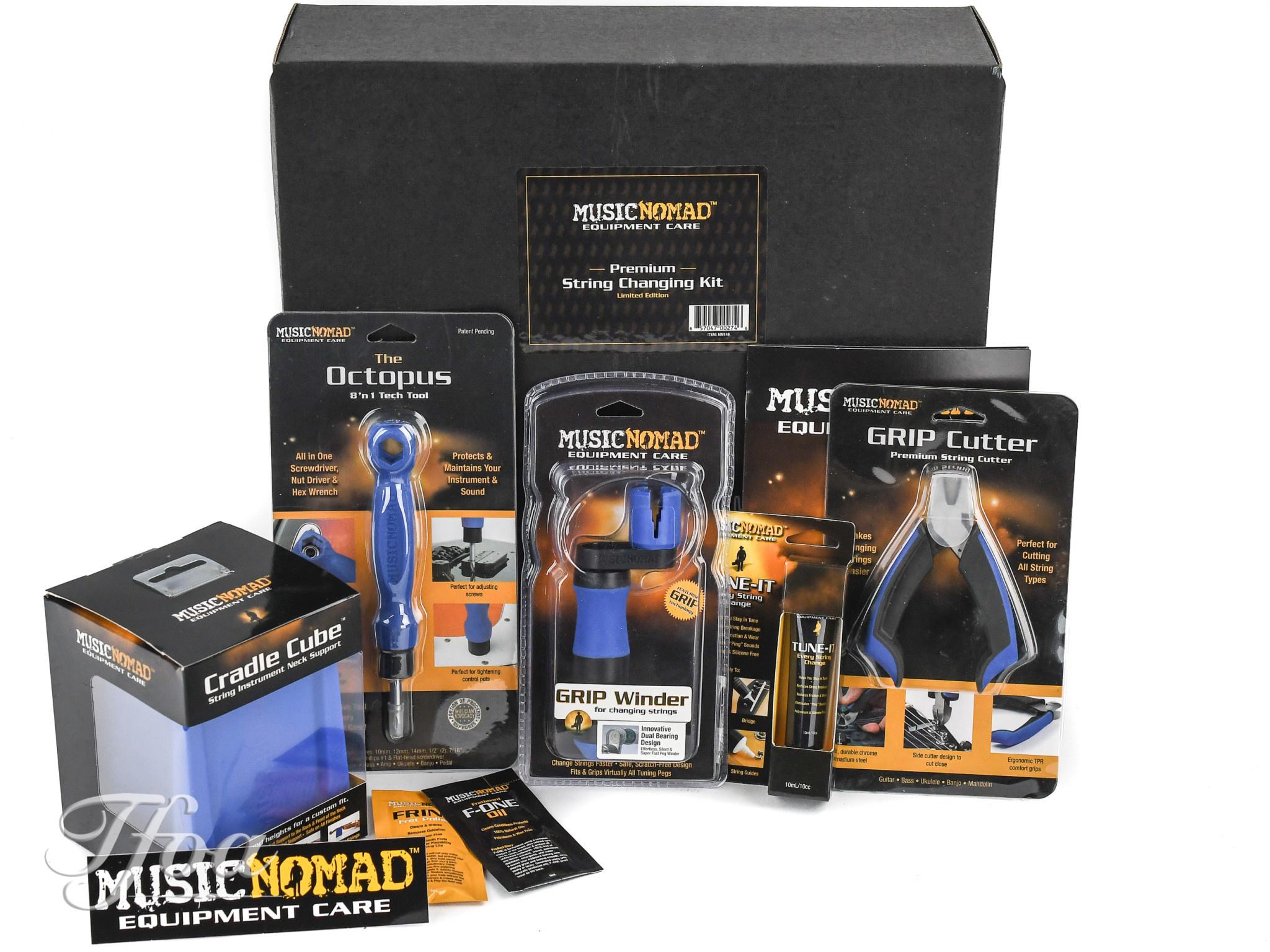 Music Nomad MN146 Premium String Changing Kit