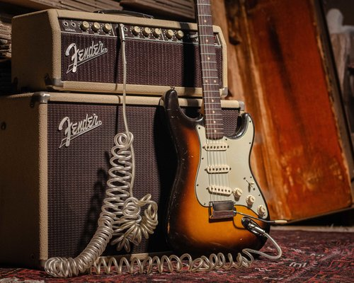 The Fender Stratocaster