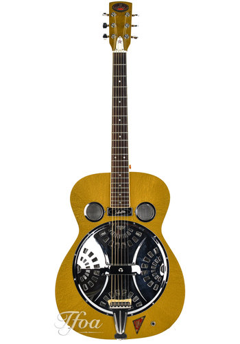 Regal Royal Resonator Goldtop w/ Schaller PU, 1980s MIJ