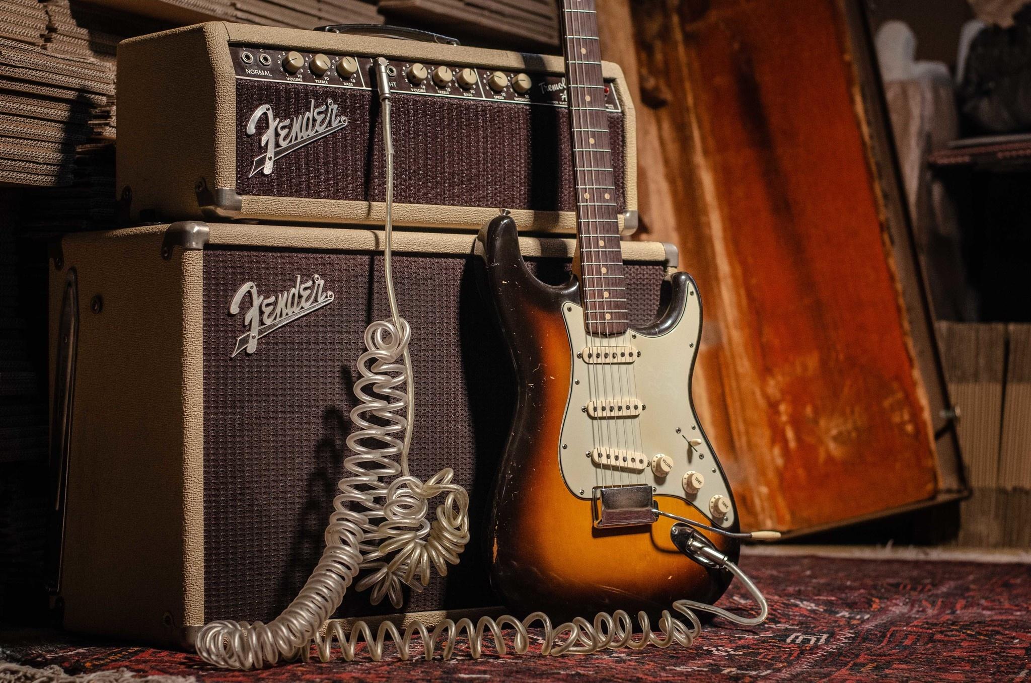 De Fender Stratocaster
