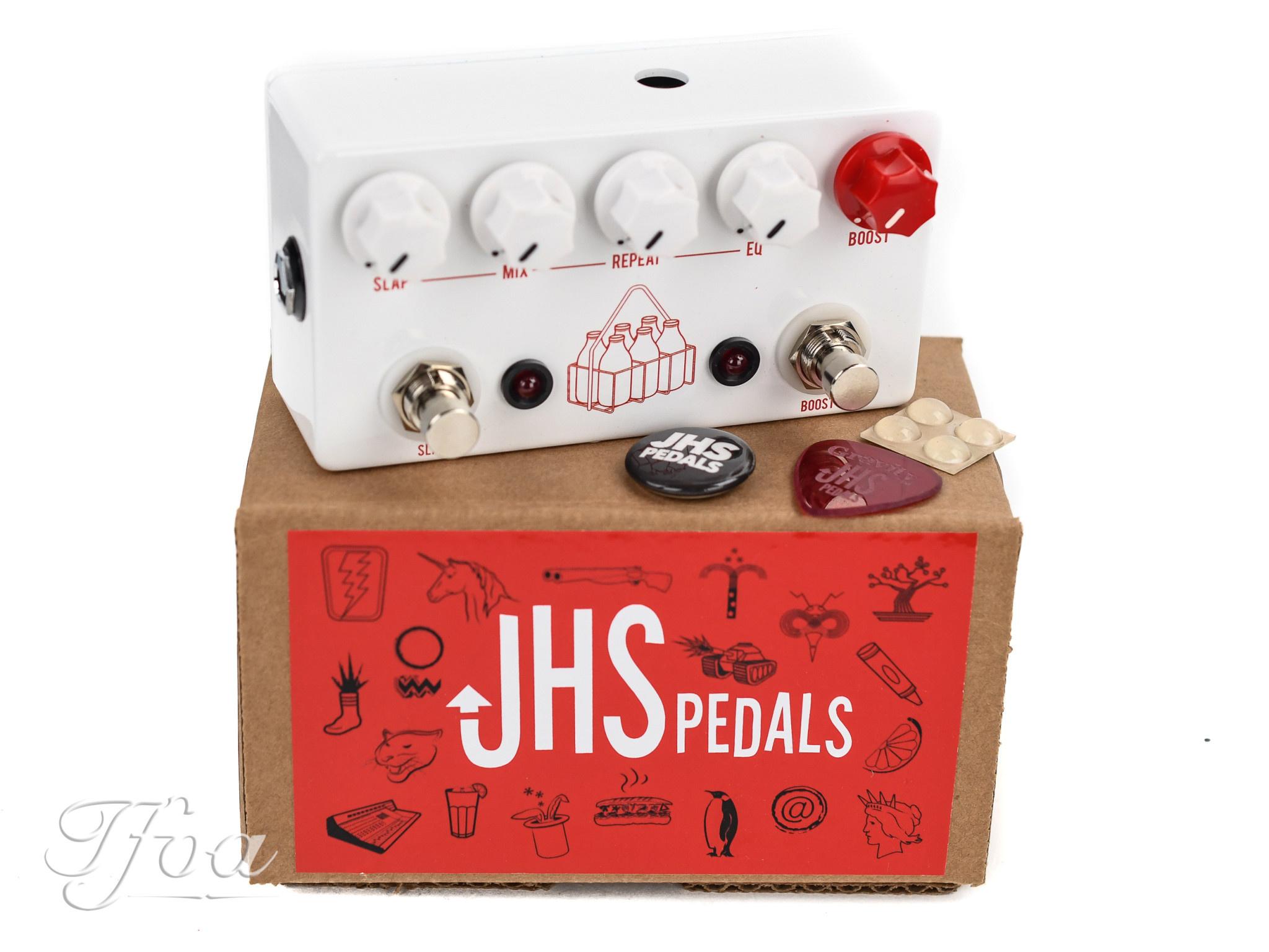 Boost Effekt Pedal Delay JHS Pedals Milkman