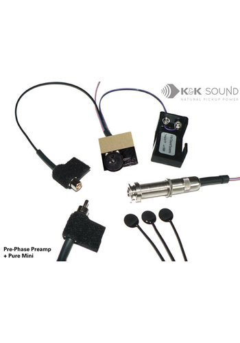 K&K Sound K&K Pre-Phase Pure Mini active with Volume Control