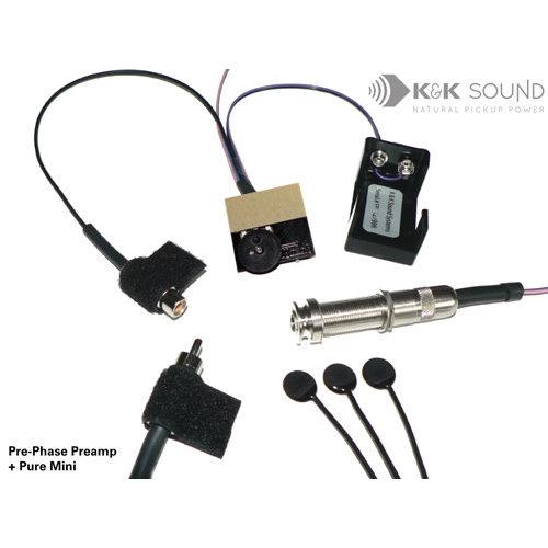K&K Sound K&K Pre-Phase Pure Mini active  met Volume Control
