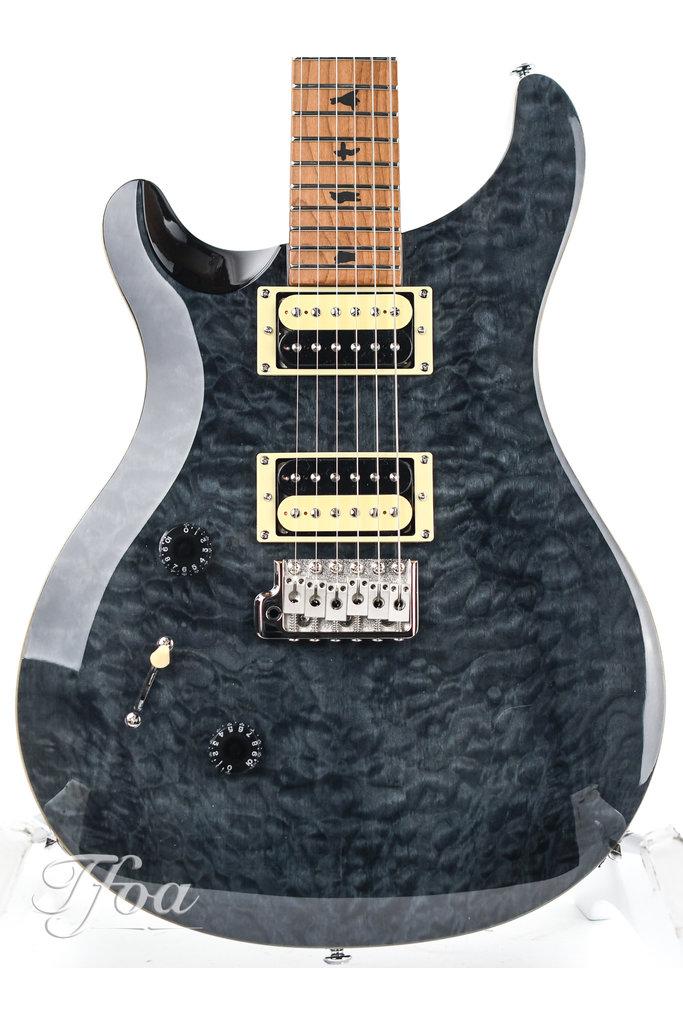 PRS SE Custom 24 LTD Roasted Maple Grey Black Lefty