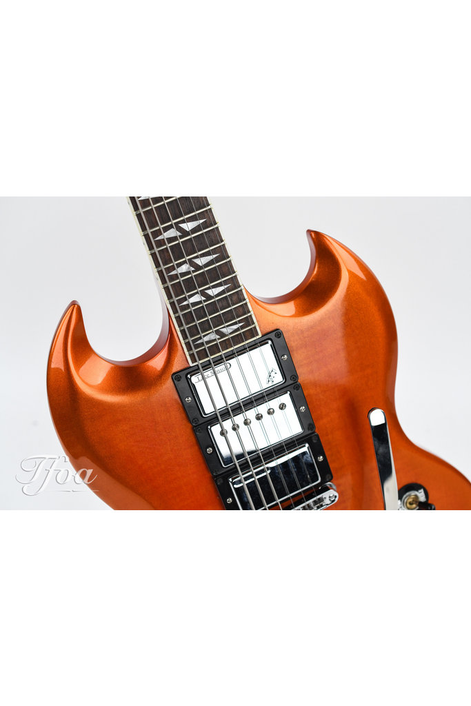 Gibson SG Deluxe Orange Burst 2013 w/ Lace Sensor Hammer Claw Pickups