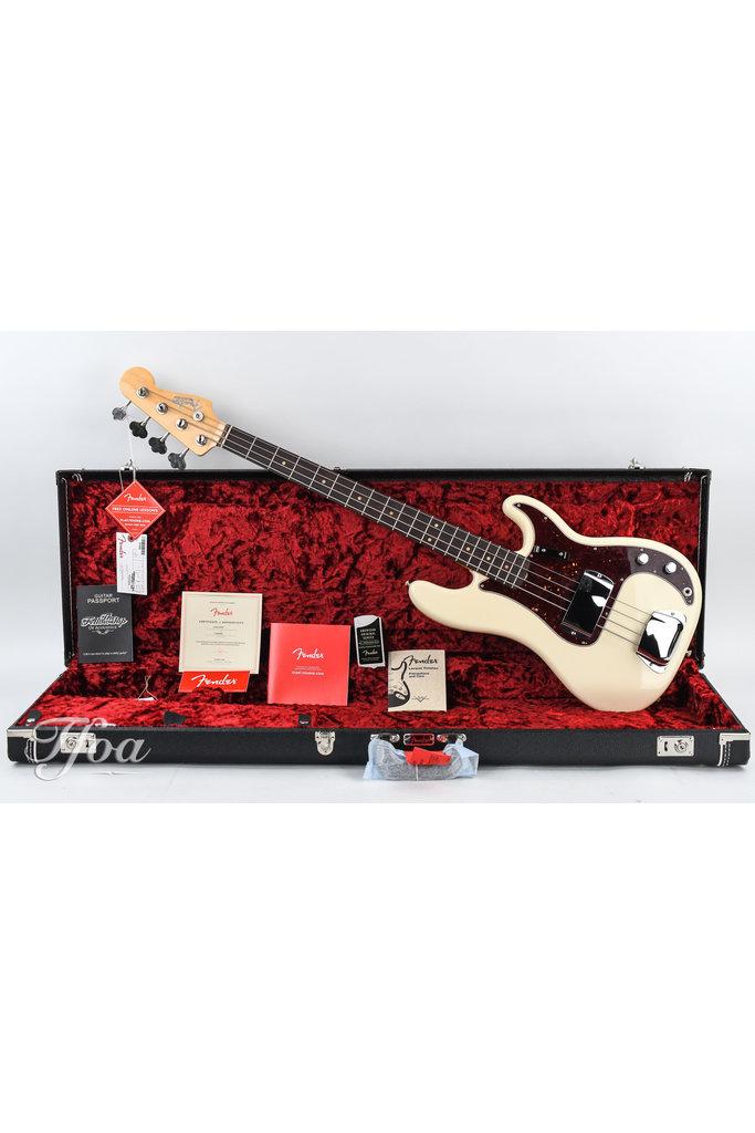 Fender American Original Precision Olympic White 2019 Used