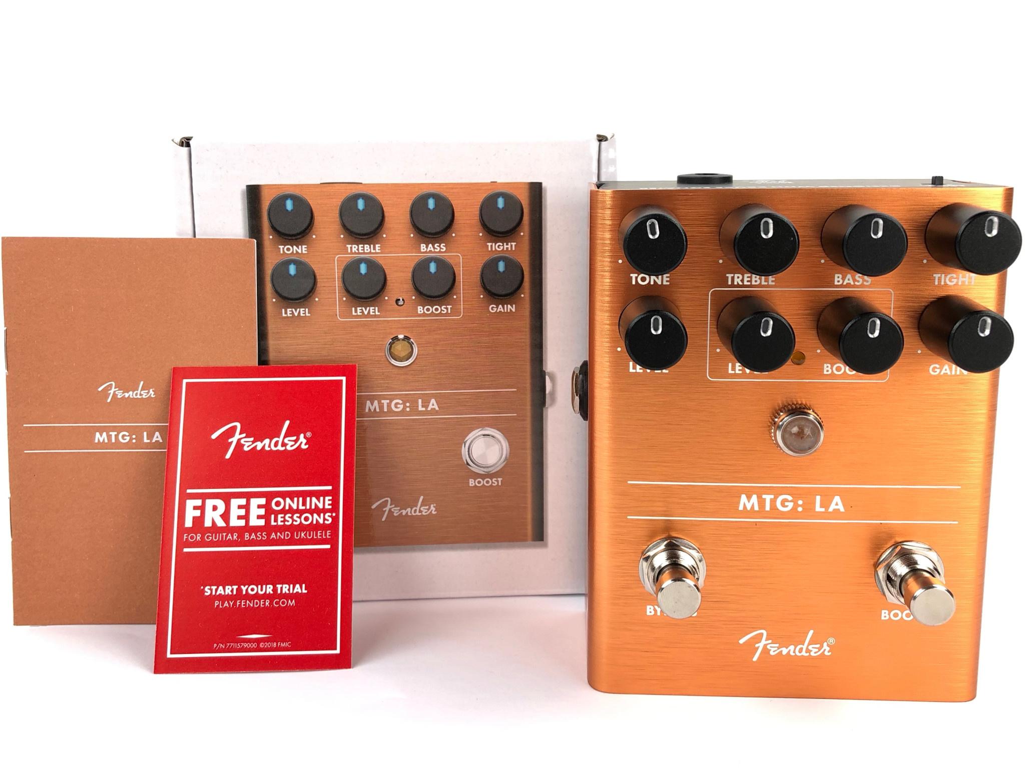 Fender MTG:LA Distortion Pedal