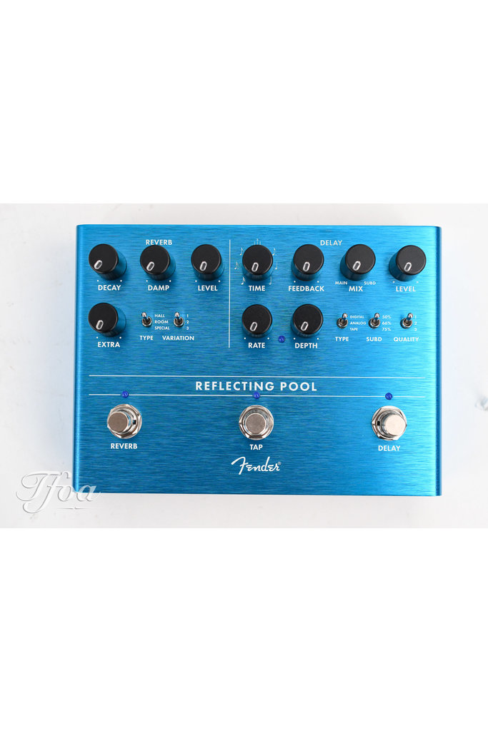 Fender Reflecting Pool Reverb and Delay