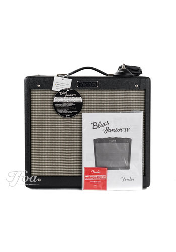 Fender Fender Blues Junior IV Black
