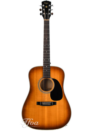Vega Vega V646 Solid Maple Engelmann Dreadnought 1970s