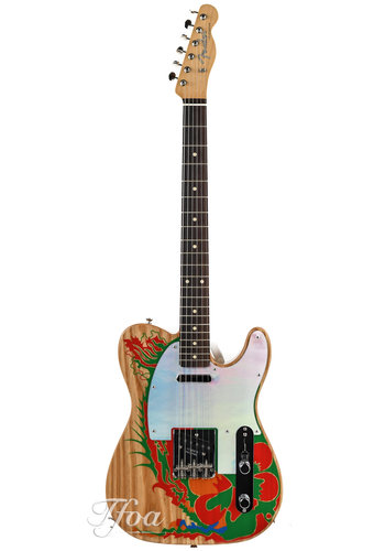 Fender Fender Jimmy Page Telecaster RW Nat Dragon