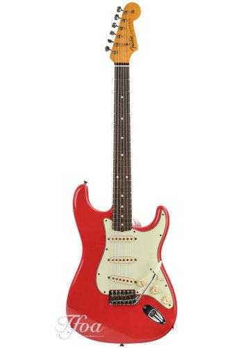 Fender Custom Fender 60 Stratocaster Fiesta Red Journeyman Relic