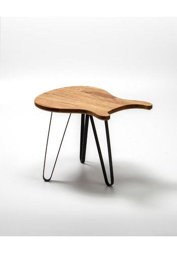 Ruwdesign Ruwdesign Solid Oak Guitar Side Table Paulus