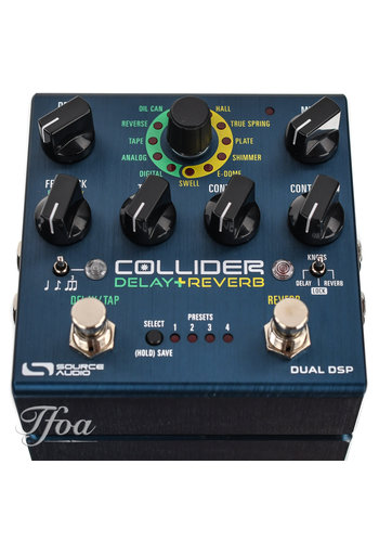 Source Audio Source Audio Collider Delay Reverb