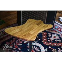 Ruwdesign Solid Oak Guitar Side Table Firebird