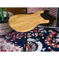 Ruwdesign Solid Oak Guitar Side Table Paulus